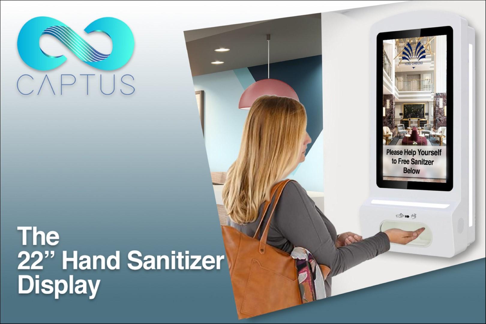 Sanitizer Button