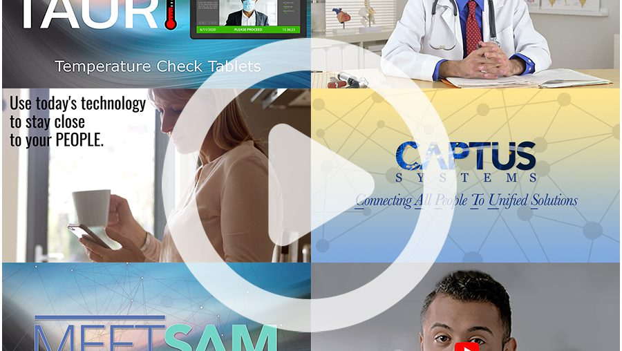 Come Take a Peek at Captus Systems' NEW VIDEO LIBRARY!